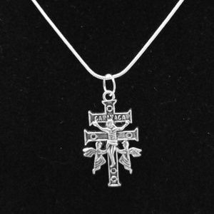 Crucifix & Angels .925 Sterling Silver Necklace